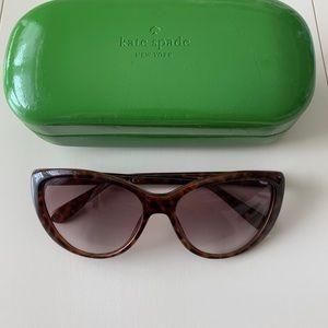 Kate Spade Sunglasses Jodene Brown Tortoise & Case